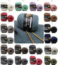 Knit Crochet yak wool cashmere Super Soft baby cotton Chunky yarn 100g sale LOT