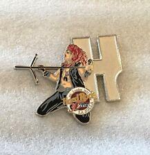 Hrc Hard Rock Cafe 30 Years Musician Letter 'H' La Jolla Pin Steven Tyler L.E.