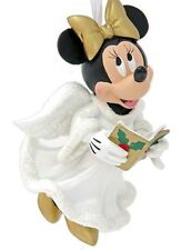 Disney Parks Minnie Mouse Choir Angel Christmas Tree Ornament New