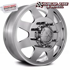 "AMERICAN FORCE INDEPENDENCE 22.5""x8.25 DUALLY TRUCK WHEELS RIMS 4 FORGED/2 STEEL"