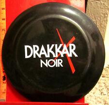 DRAKKAR NOIR men's cologne Frisbee flying disc Guy Laroche toy haute-couture OG