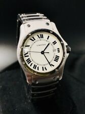 Cartier Santose Ronde Date 1561 1 Stainless Steel Watch