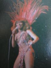 Tina Turner Vintage Trading Card Lot Rock & Roll Black Americana 70s