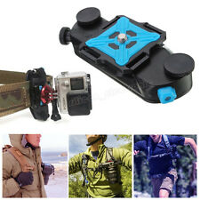 Strong Universal Waist Belt Tripod Mount Clip Adapter For SLR DSLR Camera GoPro