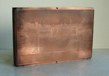 Antique Victorian Photograph Copper Plate Wood Block Old Photography