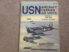Squadron/Signal - USN Aircraft Carrier Air Units Vol 1 1946-56