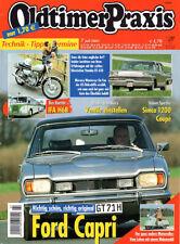 OLDTIMER PRAXIS 7/2003 - Capri 2600 GT - Maicomobil - Simca 1200 Coupé - Yamaha