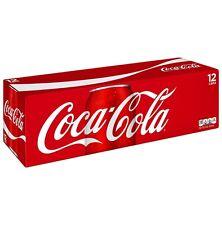 Coca-Cola Fridge Pack Cans, 12 Count, 12 fl oz For Party
