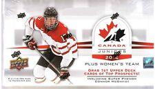 2014-15 Upper Deck Team Canada Juniors Hockey Factory Hobby Box - CONNOR MCDAVID