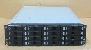 DATADOMAIN ES20 Xyratex 16 Bay Array 2x 500GB 7.2K HDD 2x Controller 2x 440W PSU
