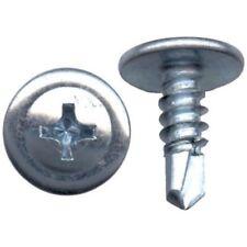 4000 Pcs # 8 x 1/2 Phillips Truss Head Self Drilling Tek Screw Sheet Metal Zinc
