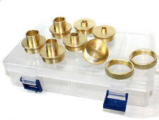 9pcs Brass Router Template Guide Bushing Set 4 Dewalt Porter Cable Skil Hitachi