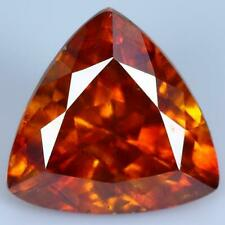 3.15CTS Natural Trillion Orange Sphalerite Spain Loose Gemstone WithFreeShipping