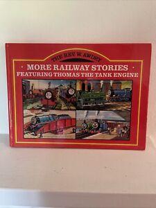 THOMAS THE TANK ENGINE Vintage Rev W Awdry More Railway Stories Hardback Book