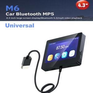 Car Universal Bluetooth Radio GPS Navigation Video MP5 Player Monitor USB Port