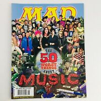 Mad Magazine August 2002 No. 420 50 Worst Things About Music Very Fine VF 8.0