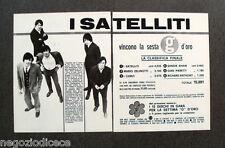 CF53 - Clipping-Ritaglio -1966- NOTIZIE MUSICA , I SATELLITI , CONCORSO GIOVANI