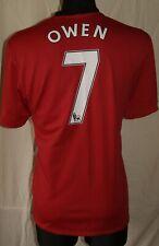Owen #7 Manchester United Home football shirt 2009 - 2010 Size Xl Excellent