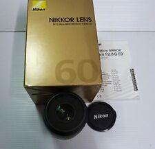 NIKON  60mm f:1-2.8  G-ED  AF-S Micro Nikkor