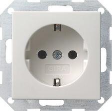 Gira 018803 Steckdose reinweiss glänzend System 55