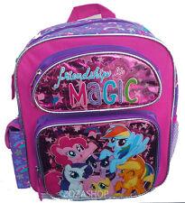 "My Little Pony Small Backpack 12"" Girls Bag Girl Toddler Backpack NEW"