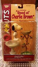 "Peanuts Snoopy ""Good Ol' Charlie Brown"" Snoopy & Woodstock, Dog Dish, Birth Bath"