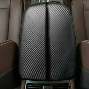 For BMW X5 E70 X6 E71 2008-2013,Carbon Fiber Look Center Console Armrest Cover