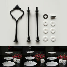 3 Tier Hardware Crown Cake Plate Stand Handle Fitting Wedding Party Supplies