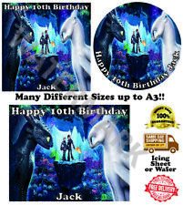 How To Train a Dragon Edible Wafer Icing Cake Topper Costco Any Size upto A3