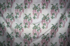 """Laura Ashley vintage Wisteria curtains pink 44""""d x 88"""" w"""