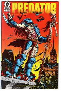PREDATOR #1 (1989) - GRADE 9.6 -  HUNTING IN NEW YORK CITY - FIRST PRINTING!
