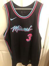 a771c12e368 Nike Dwyane Wade Miami Heat Vice City Nights Authentic Jersey NWT Sz 58 3XL
