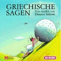 "DIMITER INKOW ""GRIECHISCHE SAGEN 1"" 2 CD NEU"