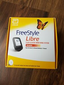 Abbotts Freestyle Libre Glucose Monitoring System READER New