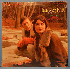 IAN & SYLVIA EARLY MORNING RAIN LP 1965 ORIGINAL SHRINK NICE COND! VG/VG+!!A