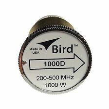 Bird 1000D Thruline WattMeter Element 1000W 200-500 MHz, GENUINE BIRD
