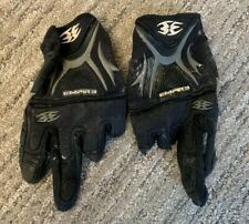 Empire Paintball Gloves Cut Off Finger Size Large Black & White Dye Eclipse