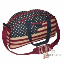 American Stars & Stripes Cotton Holdall Sac