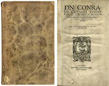 Konrad Klinge: Liber unus continens Confutationes Mendaciorum adversus… 1563.