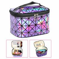 Travel Professional Large Makeup Bag Cosmetic Case Storage Handle Wash Organizer