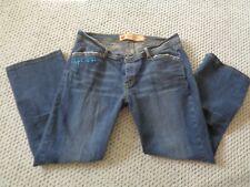 APPLE BOTTOM Demin Jeans Rhinestone Stitch Women Sz 13/14 Cotton/Spandex Bootcut