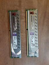 HyperX 8GB (2 x 4GB) DDR3 1600 (PC3-12800) HyperX Desktop Memory Ram