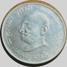 elf India 10 Rupees 1969 (B)  Silver Mahmatma Gandhi