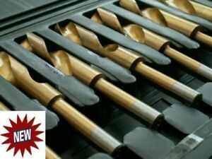 Blacksmiths TITANIUM High Speed Steel HSS LARGE Hole Boring Metal DRILL Bit Set