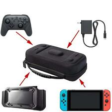 XL Nintendo Switch Travel Case Fits Hori Split Pad Pro or Pro Controller,Charger