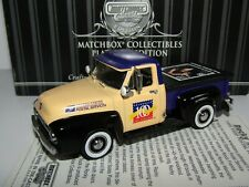 MATCHBOX COLLECTIBLES 1955 FORD PICKUP POSTAL TRUCK ROCKY MARCIANO 1/43 92553