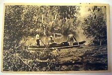 Vintage ROYAL PACKET NAVIGATION CO. INDONESIA REAL PHOTO POSTCARD Maritime