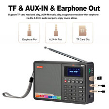 Portable DAB+FM RDS Radio Pocket Digital Receiver LCD Display With Earphone B6B6