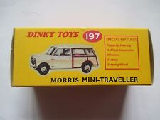 Morris Mini-Traveller (197) CLASSIC DINKY MODEL by Atlas. New. No Certificate