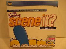 NEW - The Simpsons Scene It Game With DVD Trivia Questions Copyright 2009